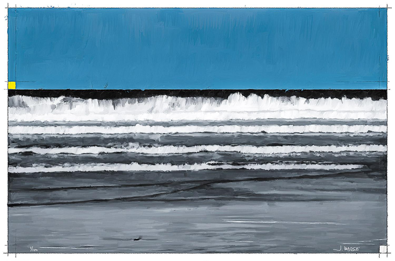 Pintura digital de Jorge Marsá de Olas en Famara I